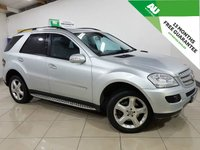 USED 2007 T MERCEDES-BENZ M CLASS 3.0 ML280 CDI EDITION S 5d AUTO 188 BHP
