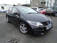 USED 2016 16 HONDA CIVIC 1.3 I-VTEC S 5d 98 BHP