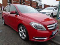 2012 MERCEDES-BENZ B CLASS 1.8 B180 CDI BLUEEFFICIENCY SPORT 5d 109 BHP £7449.00