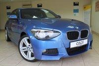 2013 BMW 1 SERIES 2.0 116D M SPORT 5d 114 BHP £8995.00