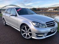 USED 2014 14 MERCEDES-BENZ C CLASS 2.1 C220 CDI AMG SPORT EDITION PREMIUM PLUS 5d 168 BHP **GREAT SPECIFICATION**