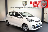 USED 2014 14 KIA PICANTO 1.0 VR7 3DR 68 BHP full kia service history WHITE WITH CLOTH UPHOLSTERY + FULL KIA SERVICE HISTORY + BLUETOOTH + USB/AUX PORT + ELECTRIC MIRRORS + PARKING SENSORS + 14 INCH ALLOY WHEELS