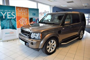2013 LAND ROVER DISCOVERY 4 3.0 4 SDV6 HSE 5d AUTO 255 BHP NEW MODEL COMMAND SHIFT  £23990.00