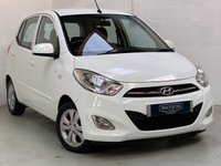 USED 2012 62 HYUNDAI I10 1.2 ACTIVE 5d 85 BHP £20 ROAD TAX, VERY ECONOMICAL