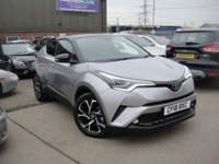 USED 2018 18 TOYOTA CHR 1.2 DYNAMIC 5d 114 BHP ANY PART EXCHANGE WELCOME, COUNTRY WIDE DELIVERY ARRANGED, HUGE SPEC