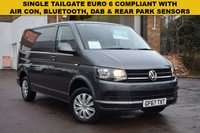 USED 2017 67 VOLKSWAGEN TRANSPORTER 2.0 T28 TDI P/V TRENDLINE BMT 1d 101 BHP A 1 keeper November 2017 EURO 6 COMPLIANT Vw Transporter T28 SWB 2.0tdi 102 TRENDLINE SINGLE TAILGATE in Grey metallic with just 15000 miles.