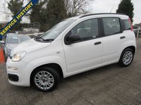 USED 2012 12 FIAT PANDA 1.2 EASY 5d 69 BHP FULL SERVICE HISTORY, LONG M.O.T, AIR CON, REMOTE LOCKING, HIGHER SEATING POSITION.