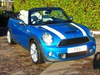 2011 MINI CONVERTIBLE 1.6 COOPER S 2d 184 BHP £7975.00