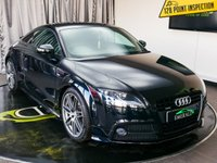 USED 2013 63 AUDI TT 2.0 TFSI QUATTRO BLACK EDITION 2d AUTO 208 BHP £0 DEPOSIT FINANCE AVAILABLE, AIR CONDITIONING, AUX INPUT, BOSE SOUND SYSTEM, CLIMATE CONTROL, DAYTIME RUNNING LIGHTS, FULL S LINE LEATHER UPHOLSTERY, STEERING WHEEL CONTROLS, TRIP COMPUTER