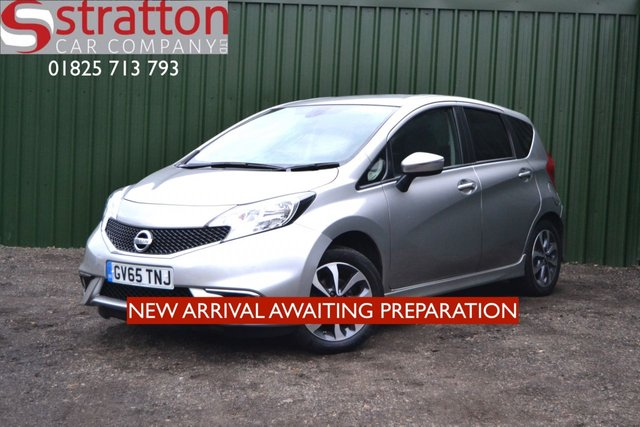 2016 65 NISSAN NOTE 1.2 N-TEC 5d 80 BHP ONE OWNER