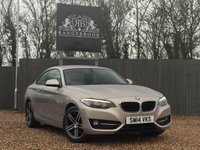 2014 BMW 2 SERIES 2.0 218D SPORT 2dr £10499.00
