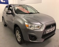 USED 2014 64 MITSUBISHI ASX 2 WAS £7999 TODAY £7499 SAVING £500 IN OUR FLASH 3 DAY SALE-WONT BE THIS PRICE FOR LONG !!! Superb family SUV with Low mileage, immaculate condition and service history -these cars have such a great reputation for quality, reliability and value -MUST BE VIEWED