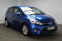USED 2015 64 TOYOTA VERSO 1.6 D-4D TREND 5DR 110 BHP £30 ROAD TAX 7 SEATS SERVICE HISTORY + £30 12 MONTHS ROAD TAX + 7 SEATS + SATELLITE NAVIGATION + PARKING SENSOR + BLUETOOTH + CRUISE CONTROL + CLIMATE CONTROL + MULTI FUNCTION WHEEL + DAB RADIO + ELECTRIC WINDOWS + 17 INCH ALLOY WHEELS
