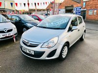 USED 2012 12 VAUXHALL CORSA 1.2 S AC 5d 83 BHP *** PAYMENTS LOW AS £68 A MONTH *** 12 MONTHS WARRANTY ***