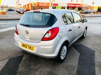 USED 2012 12 VAUXHALL CORSA 1.2 S AC 5d 83 BHP *** 12 MONTHS WARRANTY ***