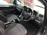 USED 2012 12 VAUXHALL ZAFIRA 1.6 EXCLUSIV 5d 113 BHP *** 12 MONTHS WARRANTY ***