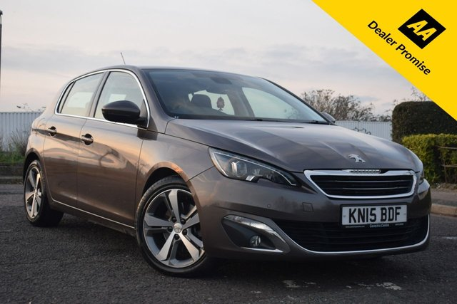 USED 2015 15 PEUGEOT 308 2.0 BLUE HDI S/S ALLURE 5d AUTO 150 BHP