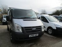 USED 2010 60 FORD TRANSIT 2.2 280 SWB  L-ROOF  CREW SEATS SIDE WINDOW TDCI 115 BHP  2010 60 FORD TRANSIT 280 SWB 2.2 TDCI CREW VAN IN SILVER