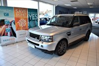 USED 2009 09 LAND ROVER RANGE ROVER SPORT 2.7 TDV6 SPORT HSE 5d AUTO 188 BHP BLACK STYLING PACK