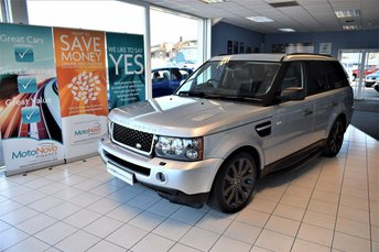 2009 LAND ROVER RANGE ROVER SPORT 2.7 TDV6 SPORT HSE 5d AUTO 188 BHP BLACK STYLING PACK £13990.00