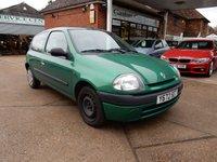 2001 RENAULT CLIO 1.1 GRANDE 3d 59 BHP £330.00