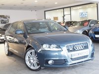 USED 2009 59 AUDI A3 2.0 TDI S LINE 5d 168 BHP CAMBELT DONE+RARE COLOUR+FSH