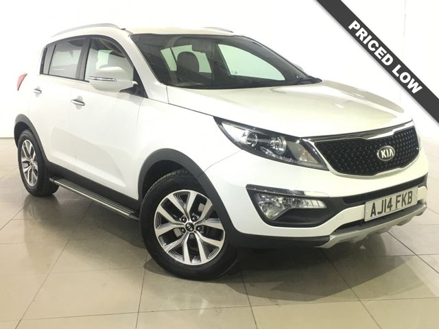 View our 2014 14 KIA SPORTAGE 1.7 CRDI WHITE EDITION ISG 5d 114 BHP
