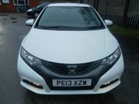 USED 2013 13 HONDA CIVIC 1.6 I-DTEC SE 5d 118 BHP