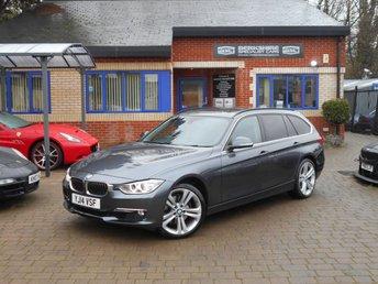 2014 BMW 3 SERIES 3.0 330D XDRIVE LUXURY TOURING 5d 255 BHP £18000.00