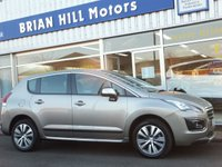 USED 2016 65 PEUGEOT 3008 1.6 HDi ACTIVE 5dr (120bhp) ...ONE OWNER. FSH. £20 R/tax
