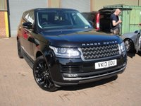 USED 2013 13 LAND ROVER RANGE ROVER 3.0 TDV6 VOGUE 5d AUTO 258 BHP ANY PART EXCHANGE WELCOME, COUNTRY WIDE DELIVERY ARRANGED, HUGE SPEC