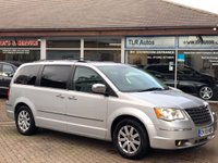2009 CHRYSLER GRAND VOYAGER 2.8 CRD LIMITED 5d 161 BHP Stow & Go £7990.00