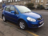 USED 2012 12 SUZUKI SX4 1.6 SZ4 5d 118 BHP OUR  PRICE INCLUDES A 6 MONTH AA WARRANTY DEALER CARE EXTENDED GUARANTEE, 1 YEARS MOT AND A OIL & FILTERS SERVICE. 6 MONTHS FREE BREAKDOWN COVER.    CALL US NOW FOR MORE INFORMATION OR TO BOOK A TEST DRIVE ON 01315387070 !! LIKE AND SHARE OUR FACEBOOK PAGE!!