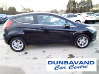 USED 2014 14 FORD FIESTA 1.2 ZETEC 3d 81 BHP Only 25,000 Miles, Full Service History, 12 Mths Mot, Air Con, Ford Bluetooth