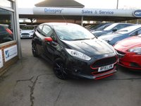 2015 FORD FIESTA 1.0 ZETEC S BLACK EDITION 3d 139 BHP £9999.00