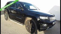 USED 2013 13 JEEP GRAND CHEROKEE 3.0 V6 CRD OVERLAND 5d AUTOMATIC 4x4 247 BHP FOUR WHEEL DRIVE *NEW SHAPE*