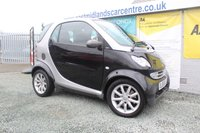 2006 SMART FORTWO 0.7 PASSION SOFTOUCH 2d AUTO 61 BHP PETROL BLACK £2490.00