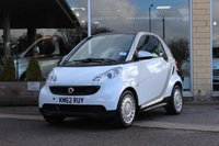2012 SMART FORTWO 1.0 PURE MHD 2d AUTO 61 BHP £4800.00