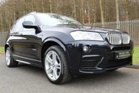 USED 2011 61 BMW X3 3.0 XDRIVE30D M SPORT 5d 255 BHP A LOW OWNER AND WELL MAINTAINED 3L X3 WITH PRO NAVIGATION!!!