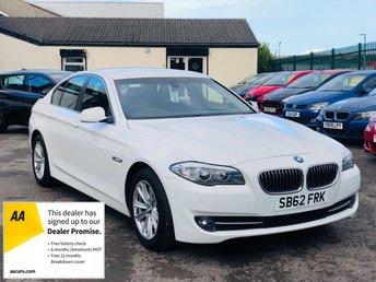 2012 BMW 5 SERIES 2.0 520D SE 4d 181 BHP £9495.00