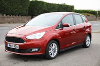 USED 2015 15 FORD C-MAX 1.5 ZETEC TDCI 5d 118 BHP Finance Options Available - Good Credit / Bad Credit