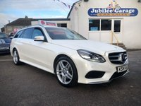 USED 2014 14 MERCEDES-BENZ E CLASS 2.1 E250 CDI AMG SPORT 5d AUTO 202 BHP Low Miles, Pearl White, Immaculate Condition, Great Spec!