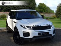 USED 2018 18 LAND ROVER RANGE ROVER EVOQUE 2.0 TD4 SE TECH 5d AUTO 177 BHP 2018 MODEL YEAR VAT QUALIFYING VAT QUALIFYING  BLACK PACK