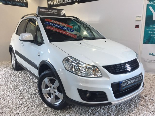 Used Suzuki Sx4 cars in Newcastle Upon Tyne from Trade Cars Newcastle