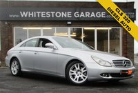 USED 2008 08 MERCEDES-BENZ CLS CLASS 3.0 CLS320 CDI 4d AUTO 222 BHP DIESEL AUTO, COST NEW £47000, ELECTRIC HEATED LEATHER SEATS, CRUISE CONTROL, RETRACTABLE MIRRORS,