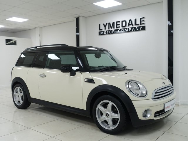 View our MINI COOPER CLUBMAN
