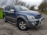 2004 KIA SORENTO 2.5 XS CRDI 5d AUTO + LEATHER + HISTORY + 2 KEYS £2775.00