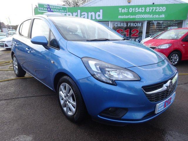 USED 2017 66 VAUXHALL CORSA 1.4 DESIGN ECOFLEX 5d 89 BHP £0 DEPOSIT FINANCE AVAILABLE....TEST DRIVE TODAY....CALL 01543 877320