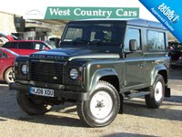 USED 2008 08 LAND ROVER DEFENDER 2.4 90 COUNTY STATION WAGON 3d 122 BHP Very Low Mileage, NO VAT