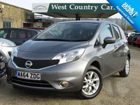 USED 2014 64 NISSAN NOTE 1.2 ACENTA PREMIUM 5d 80 BHP 1 Private Local Lady Owner From New